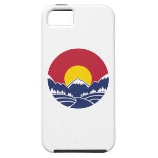 コロラド州のロッキー山脈の紋章 iPhone SE/5/5s ケース
