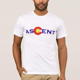 コロラド州の上昇-ロゴ(白い) Tシャツ