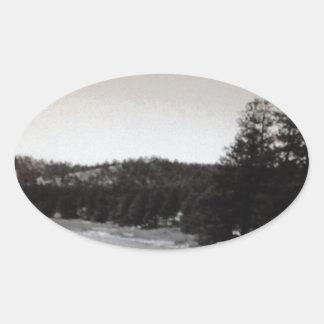 コロラド州の入り江 楕円形シール