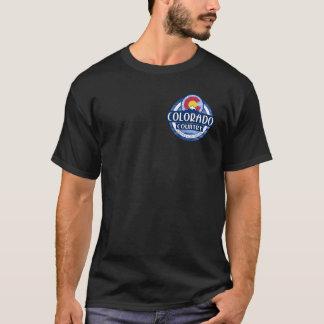 コロラド州の国の黒の倍はTシャツ味方しました Tシャツ