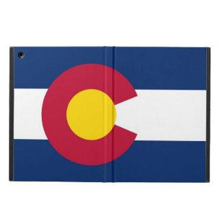 コロラド州の国家の旗との愛国心が強いipadの場合 iPad airケース