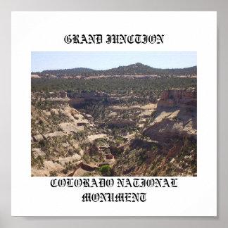 コロラド州の国有記念物、壮大な6月… ポスター