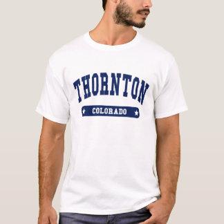 コロラド州の大学スタイルのTシャツ Tシャツ