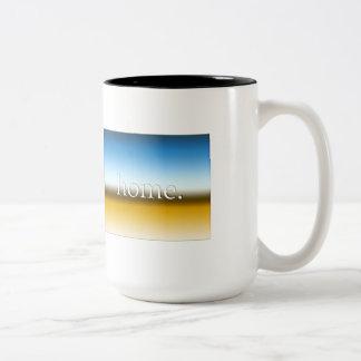 コロラド州の家の地平線 ツートーンマグカップ