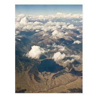 コロラド州の岩が多いアンテナ ポストカード