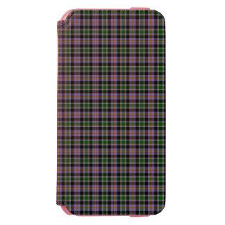 コロラド州の州のタータンチェック iPhone 6/6Sウォレットケース