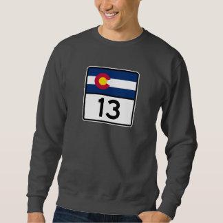 コロラド州の州のルート13 スウェットシャツ