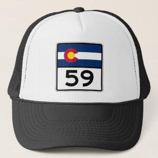 コロラド州の州のルート59 キャップ