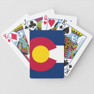 コロラド州の州の旗 バイスクルトランプ