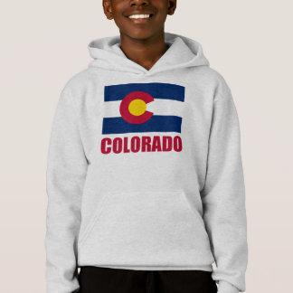 コロラド州の旗の赤の文字