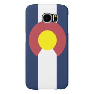 コロラド州の旗の電話箱 SAMSUNG GALAXY S6 ケース