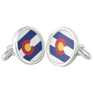 コロラド州の旗 カフボタン