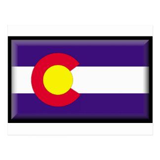 コロラド州の旗 ポストカード