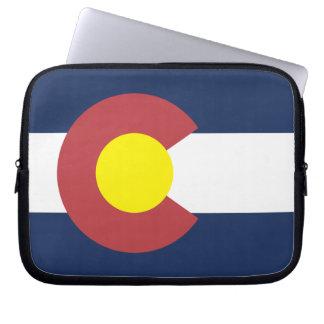 コロラド州の旗 ラップトップスリーブ