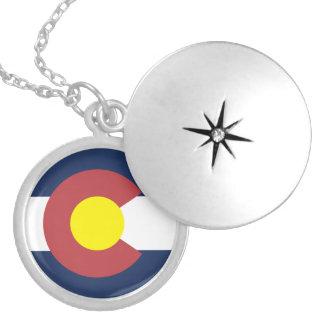 コロラド州の旗 ロケットネックレス