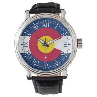 コロラド州の旗 腕時計
