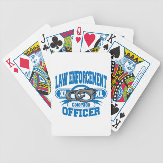 コロラド州の法執行官の手錠 バイスクルトランプ