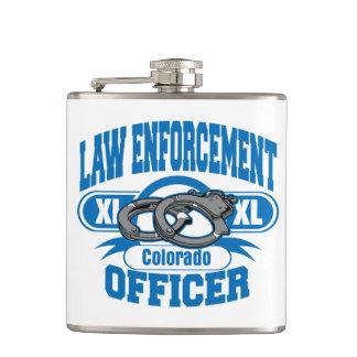 コロラド州の法執行官の手錠 フラスク