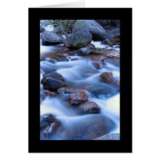 コロラド州の滝カード カード