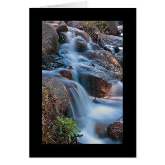 コロラド州の滝2のカード カード