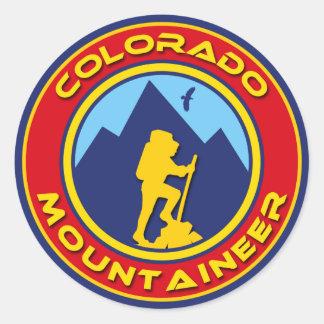 コロラド州の登山者 ラウンドシール