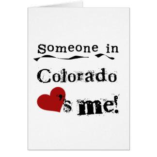 コロラド州の誰かは私を愛します カード