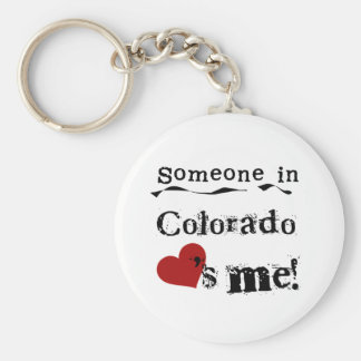 コロラド州の誰かは私を愛します キーホルダー