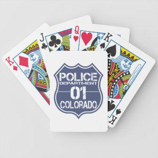 コロラド州の警察の盾01 バイスクルトランプ