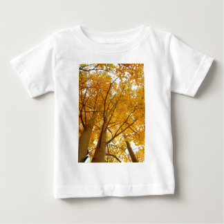 コロラド州の《植物》アスペン ベビーTシャツ