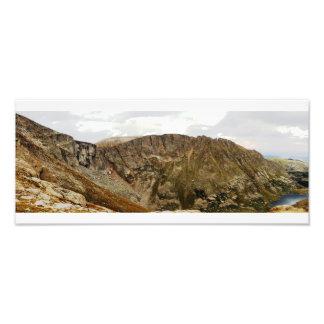 コロラド州山の平静 フォトプリント