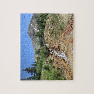 コロラド州山の景色のパズル ジグソーパズル