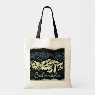 コロラド州山のdecoのバッグ トートバッグ