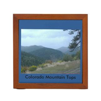 コロラド州山は机のオルガナイザーを越えます ペンスタンド