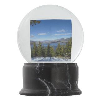 コロラド州山場面雪の地球 スノーグローブ