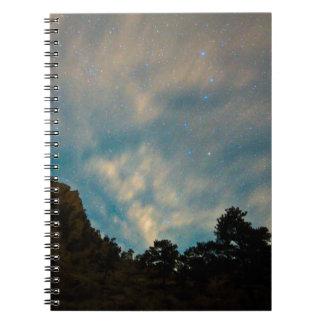 コロラド州渓谷の星の熟視 ノートブック