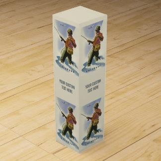 コロラド州米国のヴィンテージ旅行ワイン用化粧箱 ワインギフトボックス
