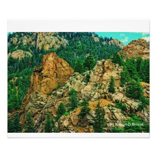 コロラド州7秋の写真の拡大 フォトプリント