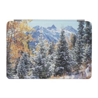 コロラド州、サンファン山、最初雪 iPad MINIカバー