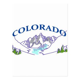 コロラド州 ポストカード