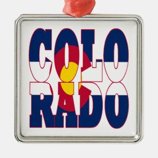 コロラド州 メタルオーナメント