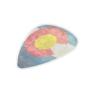 """コロラド州、国家、旗、""""コロラド州州旗""""の""""colo ポリカーボネートギターピック"""