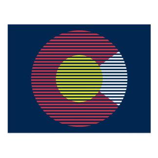 コロラド州c ポストカード