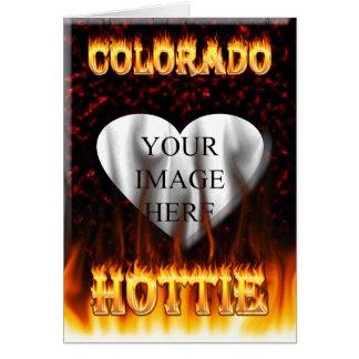 コロラド州Hottieの火および炎 カード