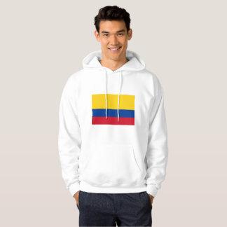 コロンビアおよび誇りを持ったなメンズ基本的なフード付きのスエットシャツ パーカ