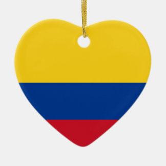 コロンビアのコロンビアの共和国の旗 セラミックオーナメント
