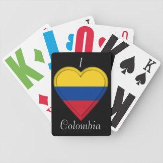 コロンビアのコロンビアの旗 バイスクルトランプ