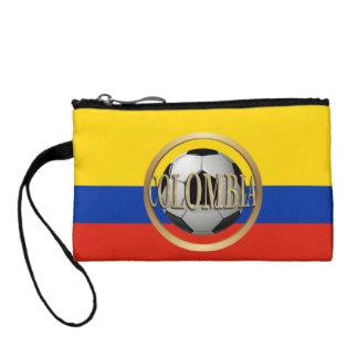 コロンビアのサッカーボール コインパース
