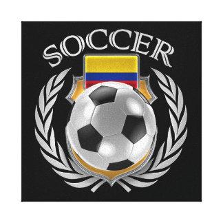 コロンビアのサッカー2016ファンのギア キャンバスプリント