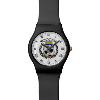 コロンビアのサッカー2016ファンのギア 腕時計