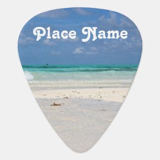 コロンビアのビーチ ギターピック